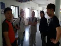 दक्षिण कोरियाच्यापर्यटकांवरपुण्यातीलतुळजालेण्यांमध्ये मधमाशांचाहल्ला