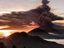 बालीच्या ज्वालामुखीतून राखेचे लोळ, अनेक प्रवासी विमानतळावर अडकले