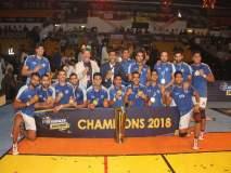 कबड्डीत भारत चॅम्पियन!इराणचा दारुणपराभव