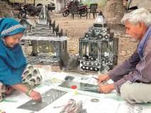 अनुभवाच्या शाळेतील अभियंत्याने बांधली पाच हजार काच मंदिरे