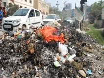शहरातील कचरापुराण; पालकमंत्री, खासदारांना महिलांनी विचारला जाब