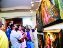 सचिन जुवाटकर यांच्या कलादालनाचे उद्घाटन, बदलापूरच्या रसिकांना मिळाली चांगली संधी