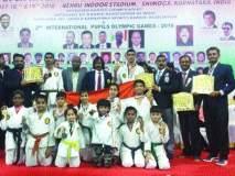 मीरा-भार्इंदरच्या १६ कराटेपटूंची चमकदार कामगिरी, पदकांची लयलूट