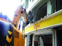 नांदिवलीत इमारतीवर हातोडा, केडीएमसीची कारवाई