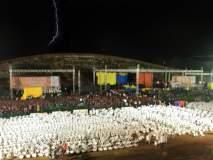 नागपूरच्या यशवंत स्टेडियमवरील खासदार क्रीडा महोत्सव समारोपावर पाणी