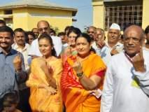 Maharashtra Election Voting Live : खासदार, आमदारांनी केले मतदान