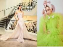 Cannes 2019 : कंगना रानौतचा प्रिन्सेस लूक तर दीपिका पादुकोणचा ग्रीन आऊटफिट, दीपिकांच्या फोटोंवर रणवीरच्या प्रेमाचा वर्षाव