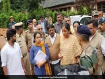 कोडगू पूर पाहणीवेळी संरक्षणमंत्री आणि पालकमंत्र्यांमध्ये बाचाबाची; कर्नाटकात राजकीय वातावरण तापले