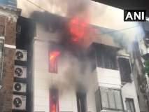 VIDEO : गिरगावातील कोठारी हाऊस इमारतीला आग, एकाचा मृत्यू