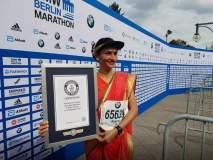 नऊवारी नेसून पूर्ण केली मॅरेथॉन, महाराष्ट्राच्या क्रांतीने साकारला वर्ल्ड रेकॉर्ड