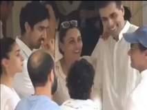 Krishna Raj Kapoor Funeral : कृष्णा राज कपूर यांच्या अंत्यदर्शनाच्यावेळी हे सेलिब्रेटी चक्क रंगले हास्यविनोदात