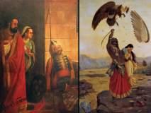 राजा रवी वर्मा यांच्या चित्रांचं प्रदर्शन