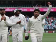 Ind vs Aus 4th test : कुलदीपचे पाच बळी, ऑस्ट्रेलियाला फॉलो ऑन
