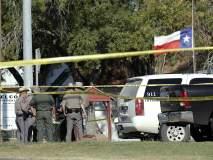 अमेरिकेच्या टेक्सासमधील बाप्टिस्ट चर्चमध्ये अंदाधुंद गोळीबार, 27 जणांचा मृत्यू