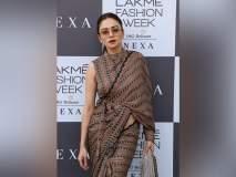 Lakme Fashion Week 2019: अमृता खानविलकरची घायाळ करणारी अदा, सौंदर्य आणि स्टाइलची सुरेख जादू