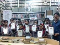 विद्यार्थ्यांनी चालवले कल्याणचे सार्वजनिक वाचनालय