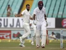 IND VS WI LIVE : दुसऱ्या दिवसअखेर वेस्ट इंडिज ६ बाद ९४; अजूनही ५५५ धावांनी पिछाडीवर