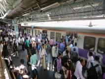 जोरदार पावसामुळे मध्य रेल्वेवरील मेगाब्लॉक रद्द, प्रवाशांची गैरसोय टाळण्यासाठी निर्णय