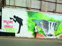 ... अन् भिंती देऊ लागल्या स्वच्छतेचा संदेश,कलाकारांनी चित्रांतून दिला स्वच्छतेचा संदेश