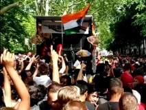 लंडनच्या रस्त्यावर भोजपुरी गाण्यावर गोऱ्यांचा झिंगाट डान्स, व्हिडीओ व्हायरल