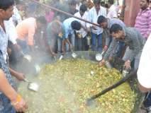 Video : सारंग स्वामी यात्रेत १५० क्विंटल भाजीच्या महाप्रसादाचे वाटप