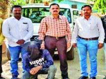 कृष्णा जाधव खूनप्रकरणी फरारी आरोपी जेरबंद