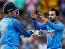 India vs New Zealand 5th ODI : धोनीच्या टिप्सने पुन्हा एकदा सामन्याला कलाटणी