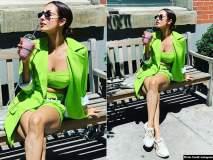 Hotness Overloaded...! मलायका अरोरा न्यूयॉर्कमध्ये करतेय सुट्टी एन्जॉय