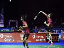 Japan Open badminton : मनु अत्री- सुमिथ रेड्डी जोडीचा ऑलिम्पिक पदक विजेत्यांना धक्का