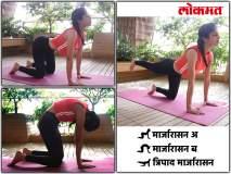 International Yoga Day 2018 : जाणून घ्या, कसं करतात मार्जारासन आणि त्याचे फायदे