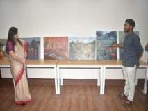 मुंबई मेट्रो 3च्या कामकाजाचा आढावा दर्शवणारी चित्रं, जे.जे. स्कूल ऑफ आर्ट्सच्या विद्यार्थ्यांची मेहनत
