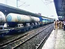 गुजरातचे दूध रेल्वेने आले मुंबईला