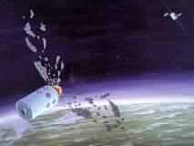 भारताचा अंतराळातील 'कचरा' दाखवणाऱ्या NASAची ISRO कडून साफ 'सफाई'