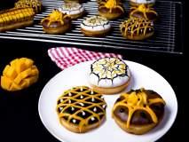 डोनट्स आता आंबा फ्लेव्हरमध्ये!