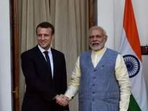 भारत आणि फ्रान्समधील संबंध ऐतिहासिक - इमँन्युएल मँक्रोन