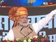 PM Modi in Shirdi: पंतप्रधान मोदींच्या हस्ते 10 लाभार्थ्यांना घराची चावी सुपूर्द