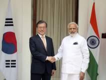 दक्षिण कोरियाच्या राष्ट्रपतींना मोदी जॅकेटची भुरळ