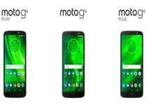मोटो जी ६, जी ६ प्लस व जी ६ प्ले स्मार्टफोन्सची घोषणा