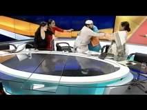 लाईव्ह शोमध्ये मौलानाची महिला वकिलास मारहाण, पोलिसांची स्टुडिओत धाव