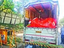 उसाखाली गोमांस ठेवून वाहतूक, मुंबईला निघाला होता ट्रक