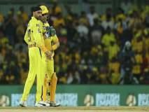 IPL 2019 : महेंद्रसिंग धोनीनं हरभजनची तुलना केली खास मद्याशी; जाणून घ्या का?
