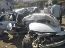 रामनगर येथे कारची झाडाला धडक; दोन डॉक्टर ठार एक जखमी