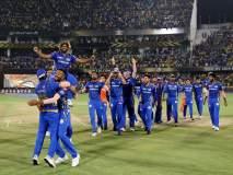 IPL 2019 : मुंबईच्या विजयाचे सेलिब्रेशन पाहा फक्त एका क्लिकवर