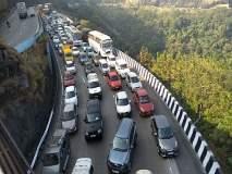 एक्सप्रेस-वे: मुंबईकडे जाणारी वाहने एक तासाच्या अंतराने सोडणार