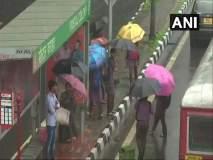 Mumbai Rains LIVE : मुंबईसह उपनगरात जोरदार पावसाची हजेरी