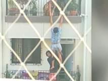 आत्महत्येचा प्रयत्न करणाऱ्या मुलाला शेजाऱ्यांनी वाचवलं
