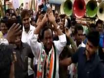 Video: मतांसाठी कायपण..!! कर्नाटकच्या काँग्रेस मंत्र्याचा 'नागिन' डान्स व्हायरल