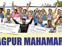 शुभम मेश्राम, निकिता राऊत महामॅरेथॉन विजेते ; लोकमत नागपूर महामॅरेथॉनला 'महाप्रतिसाद'