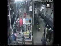 VIDEO: चालत्या ट्रेनखाली आला तरुण, RPF जवानाने मृत्यूच्या जबड्यातून काढलं बाहेर