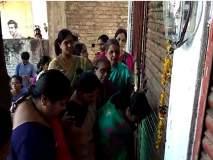 नांदेड: दारू दुकानाला संतप्त महिलांनी ठोकले कुलूप